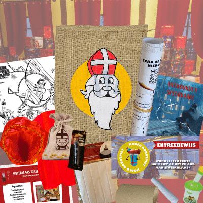 Jutezak van Sinterklaas
